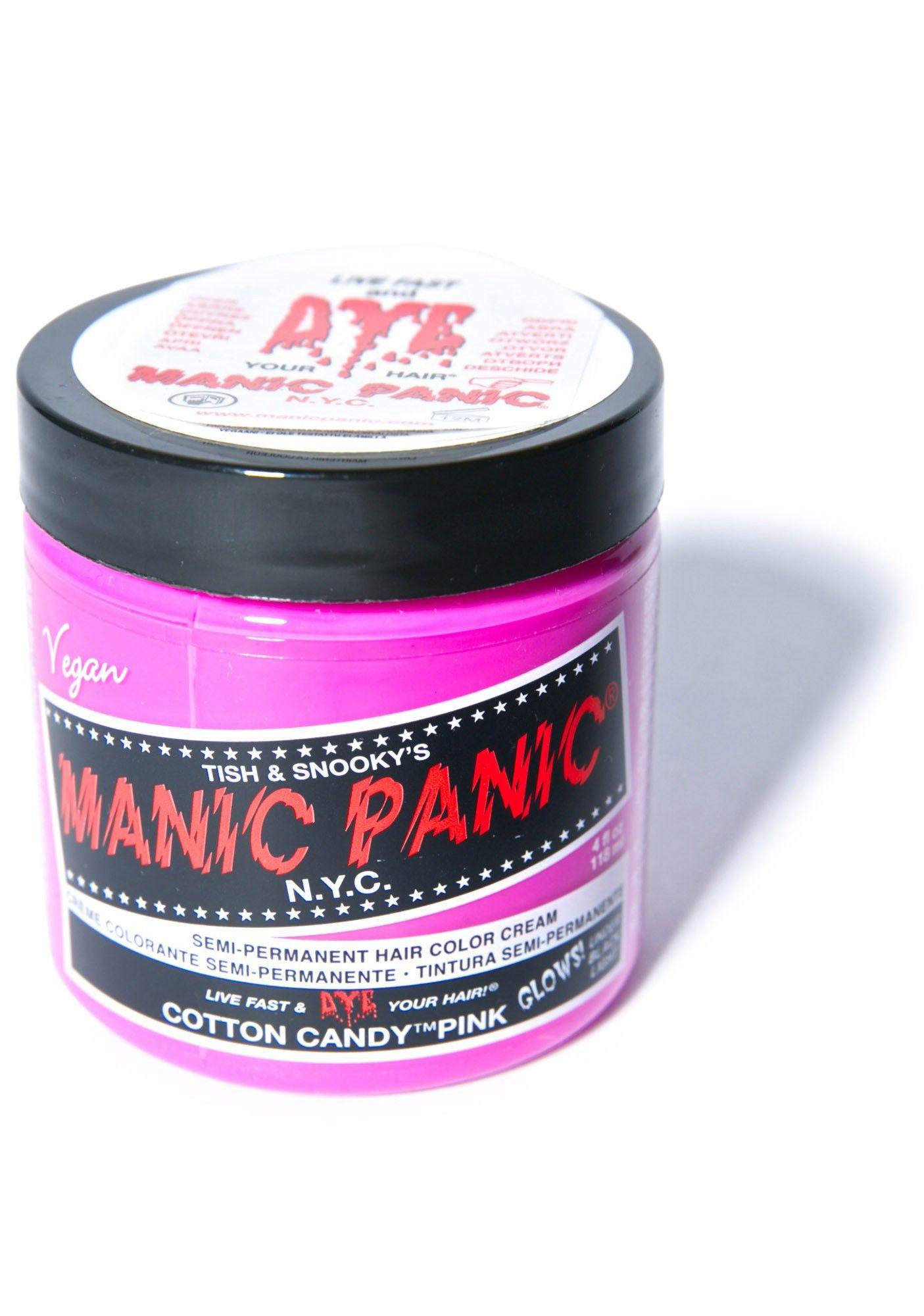 Manic Panic Cotton Candy Pink Classic Hair Dye | Dolls Kill