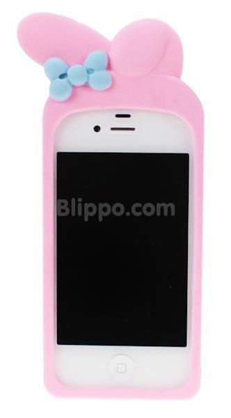 My Melody iPhone silicone case