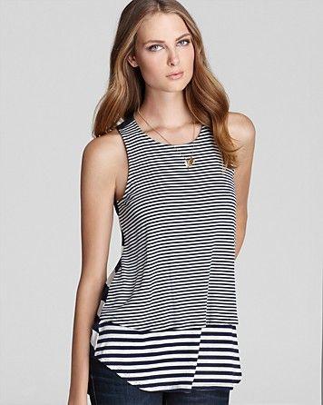 1d484666 Ella Moss Tank - Juno Multi Stripe | Bloomingdale's | Sleek Chic ...
