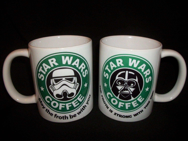 Star Wars Coffee Mug May The Froth Be