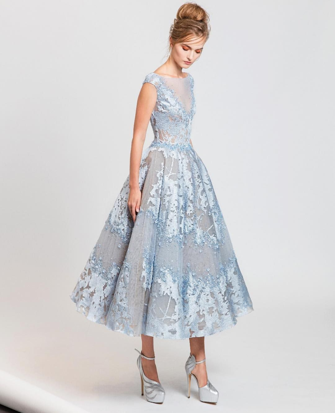 Beautiful in blue tony ward springsummer rtw collection