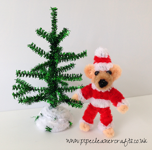 Pipe Cleaner Crafts for Kids | PIPE CLEANER CHRISTMAS TREE AND PIPE CLEANER TEDDY BEAR - VIDEO IS READY