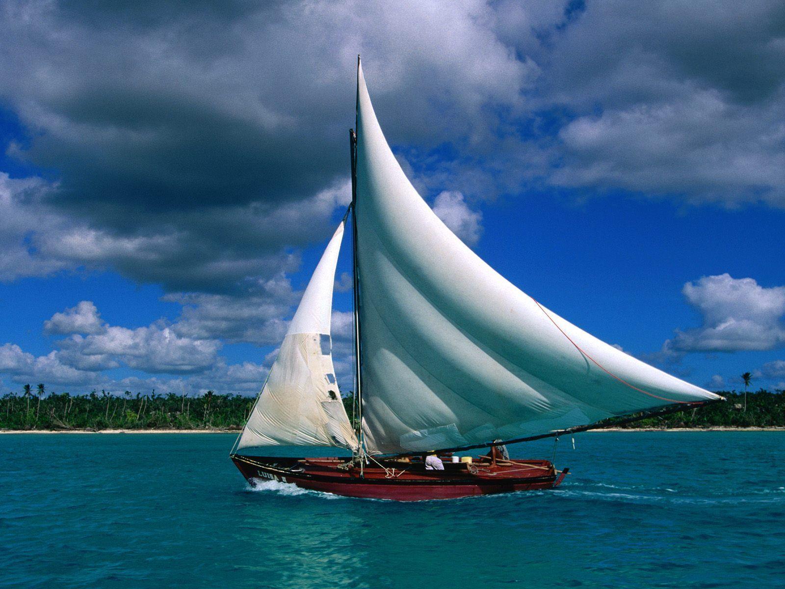 kapal layar,layar sailing