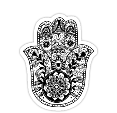 The Hamsa Hand Is Traditionally An Open Right Hand With An Image Of