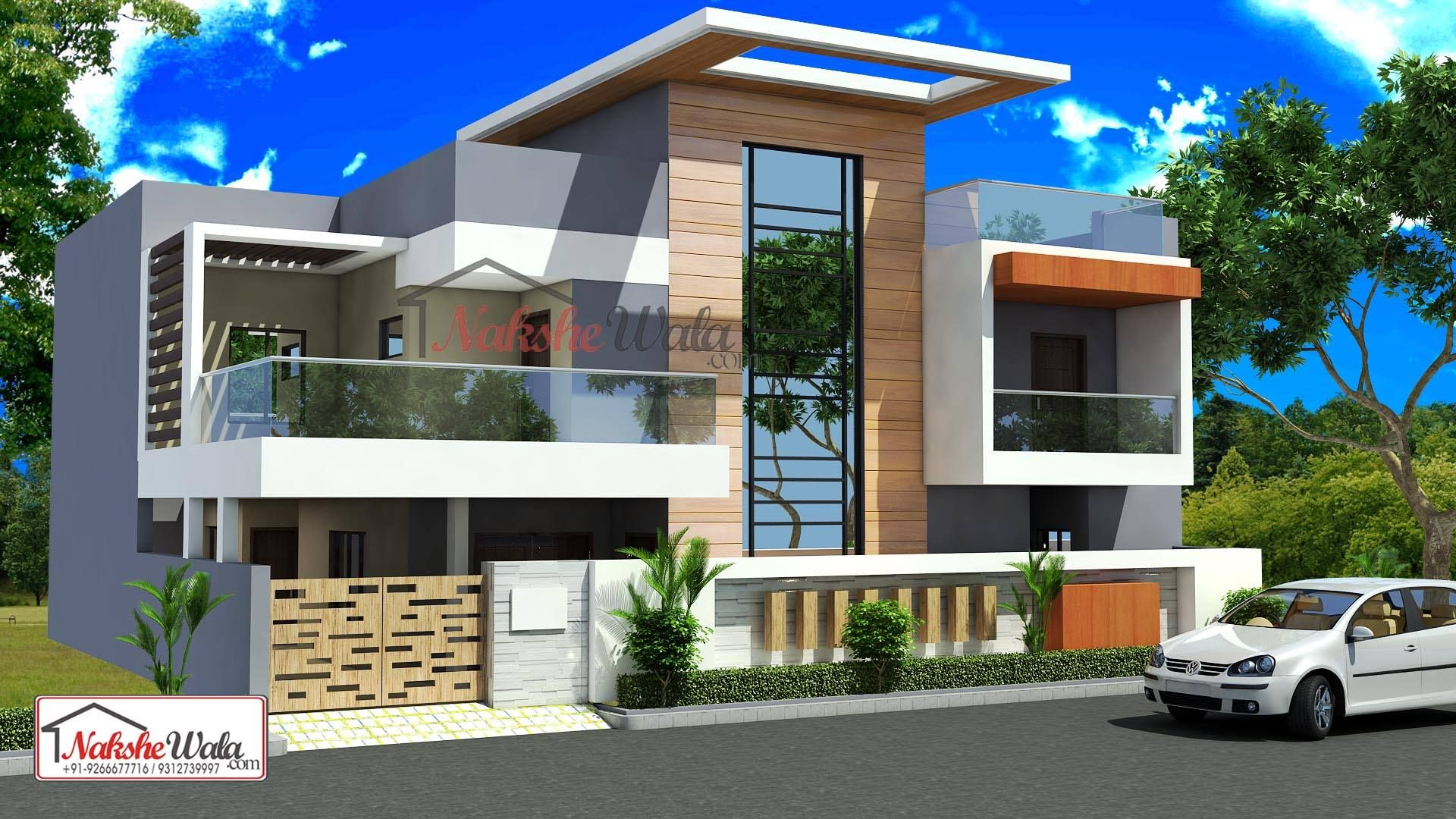 Double Storey Elevation | Small house elevation design ...
