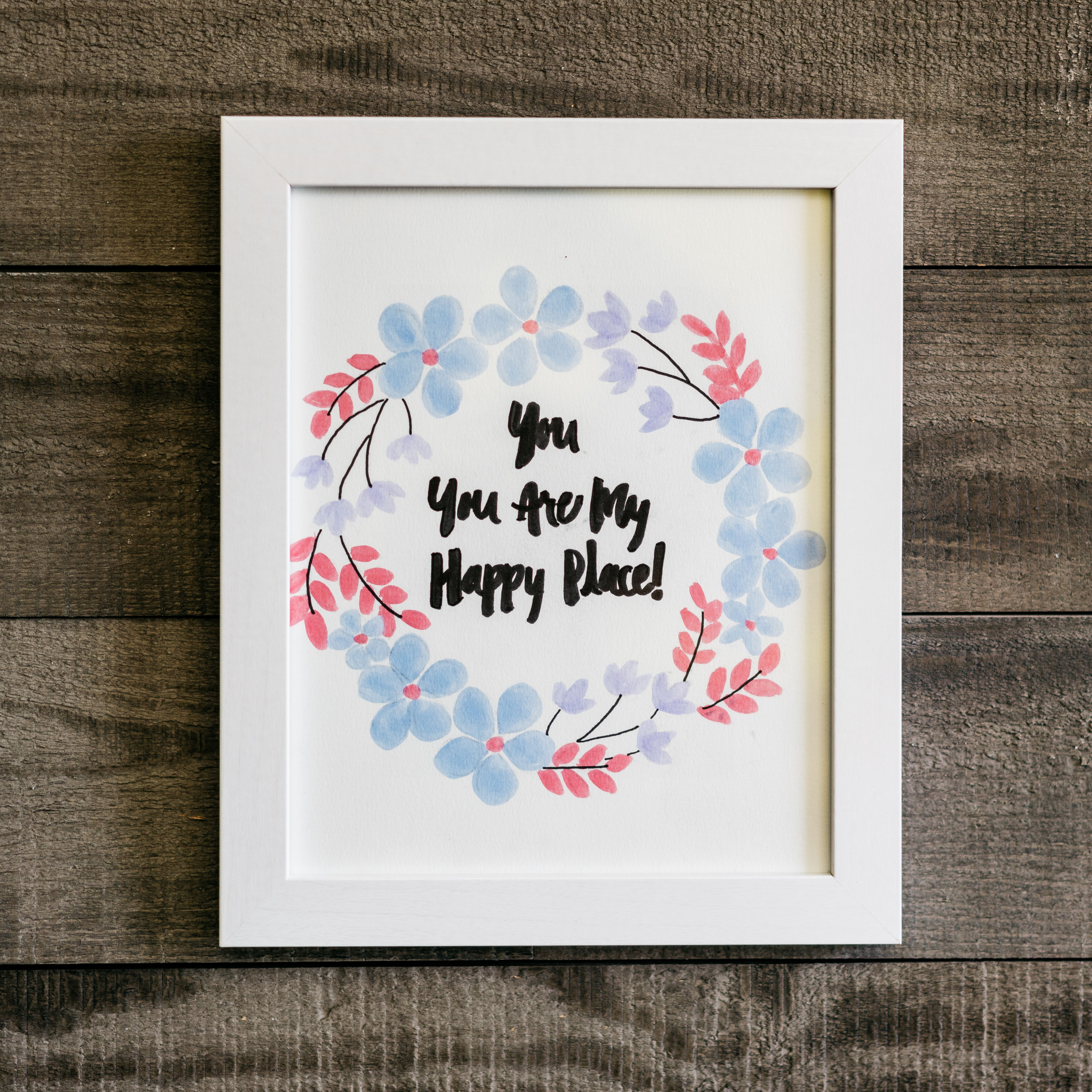 Diy framed floral calligraphy darbysmart makeitwithmichaels diy framed floral calligraphy darbysmart makeitwithmichaels diyproject trace calligraphy quotes solutioingenieria Gallery