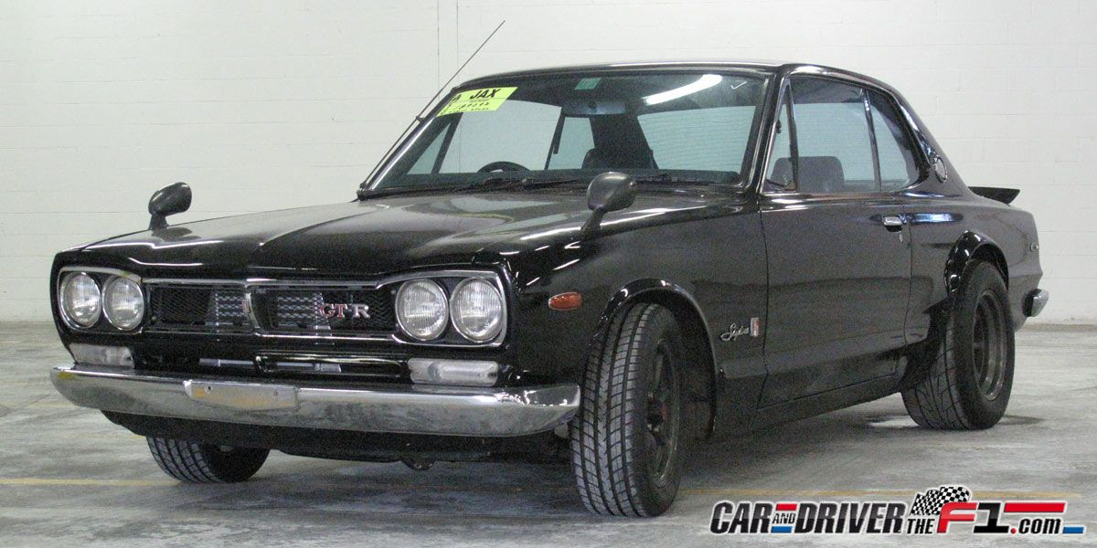 1972 Nissan Skyline Gt R Fast Five The Fast And The Furious Cars