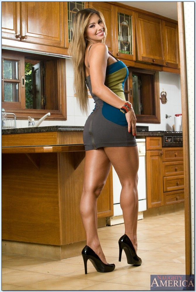 sexy latinas in mini skirts