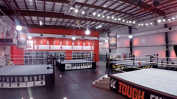 The World's Most Extreme Gym? Behind the Scenes of the WWE Performance Center - MensJournal.com