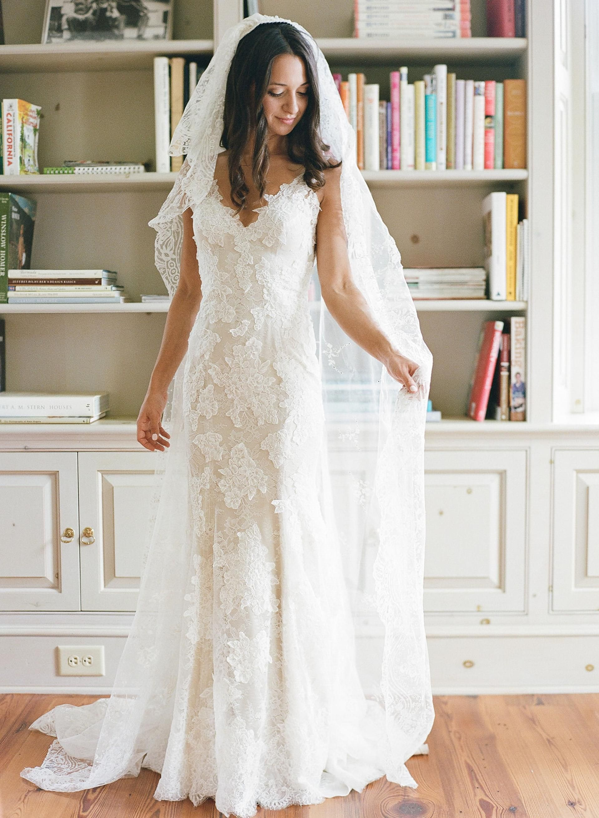 The Smarter Way to Wed | Chapel length veil, Wedding dress and ...