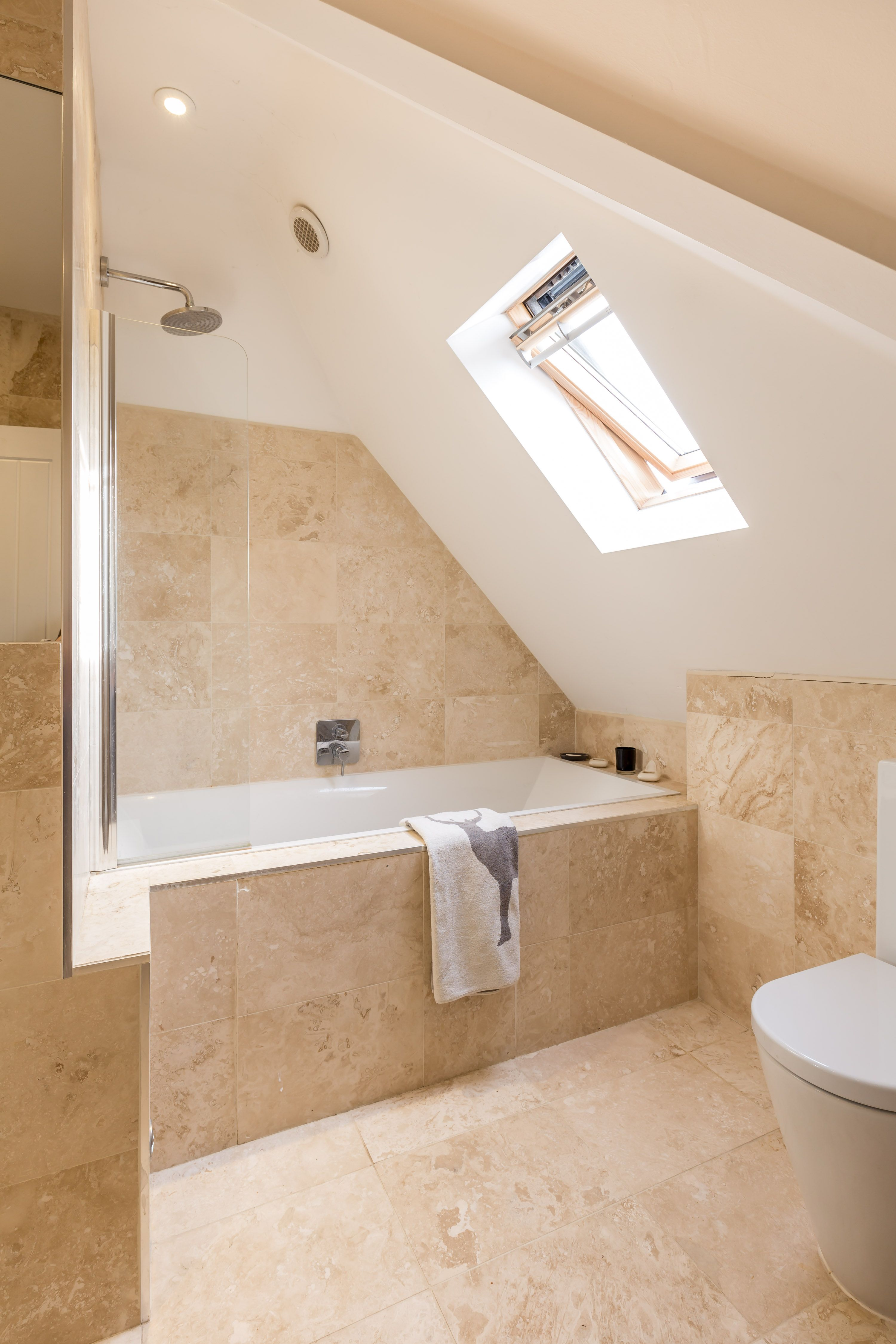 Ensuite Bathroom - Master Bedroom - Velux Rooflight - Internal