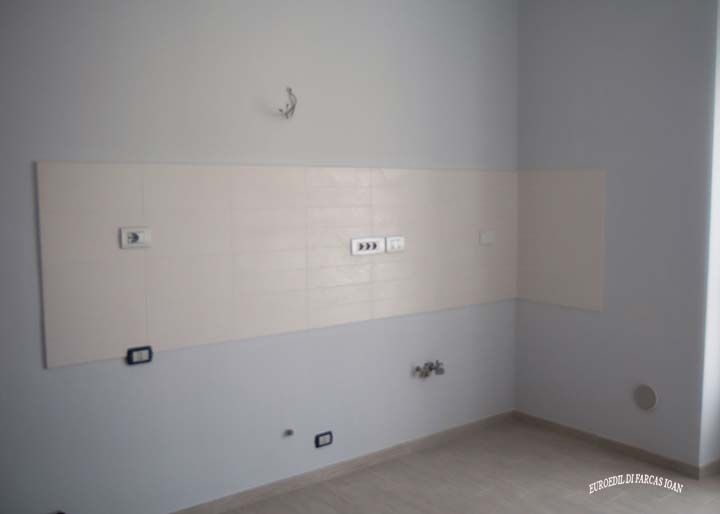 rifacimento impianto idraulico in cucina