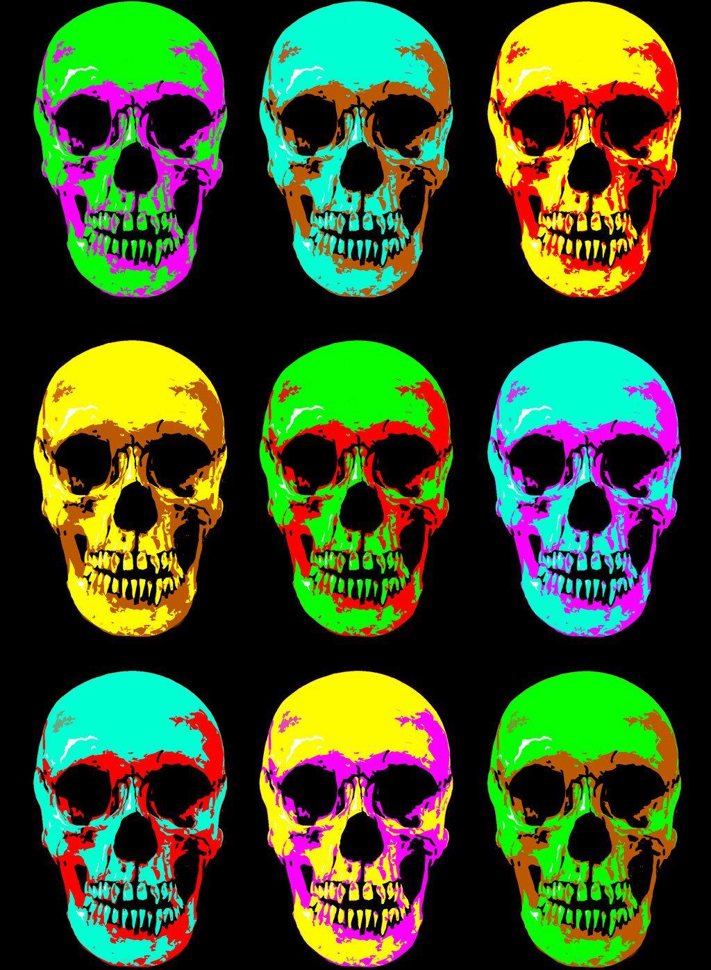 Glow Skulls by NickNightshade on DeviantArt