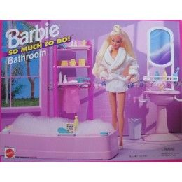 Barbie Bathroom Had This Exact Set Barbie Bathroom Barbie