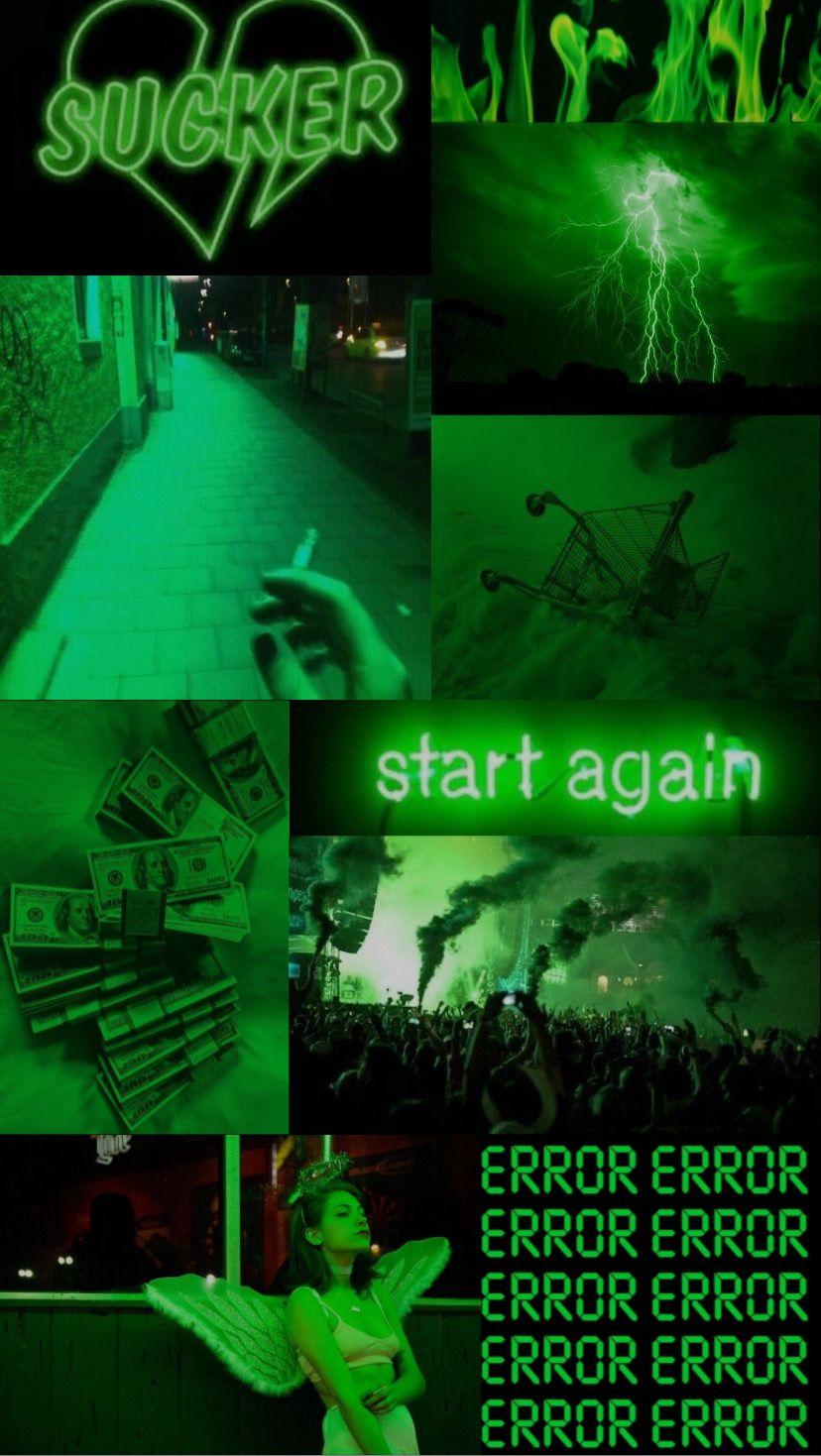 Neon Green Aesthetic Wallpaper Green Aesthetic Dark Green Aesthetic Aesthetic Wallpapers