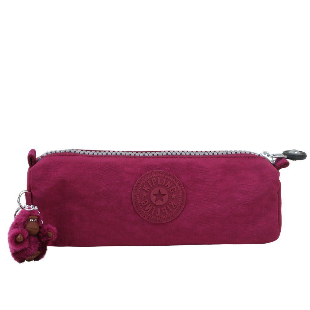 21e047353 Estojo Kipling Freedom Royal Red. Levo de tudo, canetas, borrachas,  post-its, pendrives e muito mais.