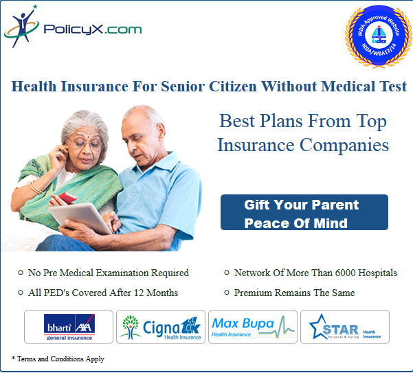 Your Parents need not worry for medical tests before