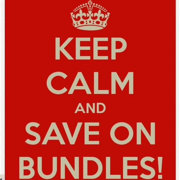 Discounts on Bundles! 2 items 10, 3 items 15, 4 or