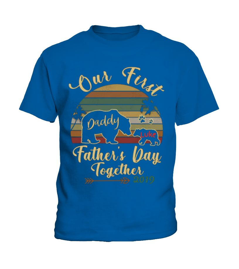 FATHER'S DAY CUSTOMIZE FOR BABY (Kid T-Shirt - Royal Blue) fathers day classroom, fathers day crafts for kids preschool, fathers day card kids #fathersdaygifts #toptags #sport, christmas decorations, thanksgiving games for family fun, diy christmas decorations
