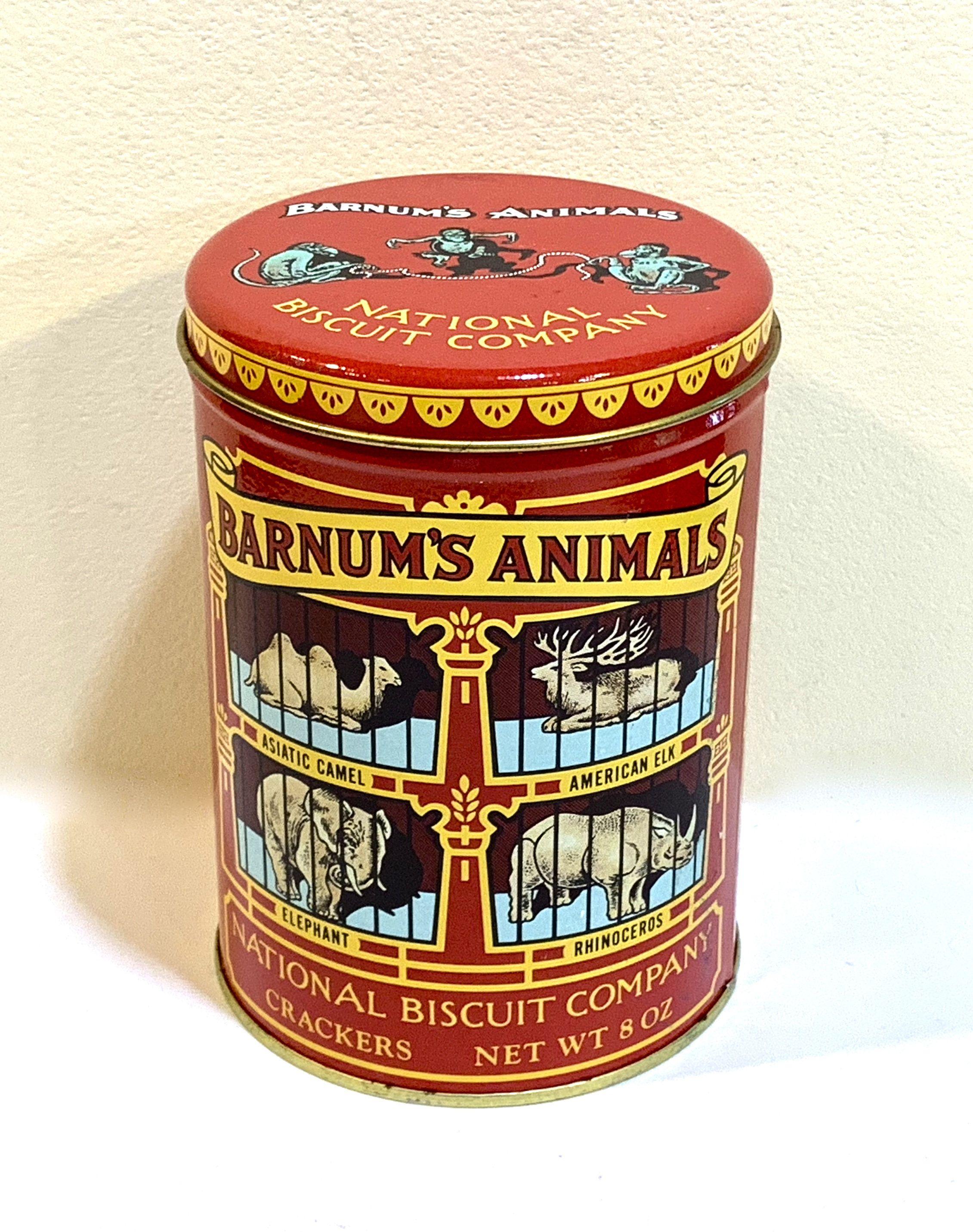 Vintage Style Retro Lidded Storage Tin Fresh Popcorn USA Style