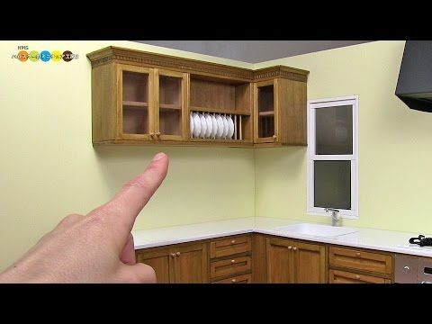 How To Make Miniature Dollhouse Items Miniature Frying Pan Miniature Dollhouse Living Roo Miniature Kitchen Kitchen Wall Cabinets Dollhouse Kitchen Cabinets