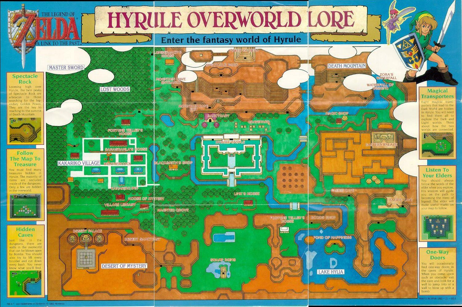 Zelda A Link To The Past Map Game Map Legend Of Zelda Zelda Link To The Past
