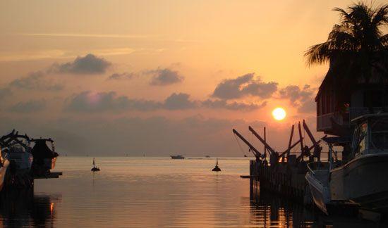 Sunset Tavernier Pictures Outdoor Celestial