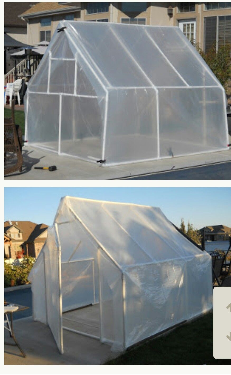 10x10 Greenhouse For 100 Greenhouse Greenhouse Growing Outdoor Gardens