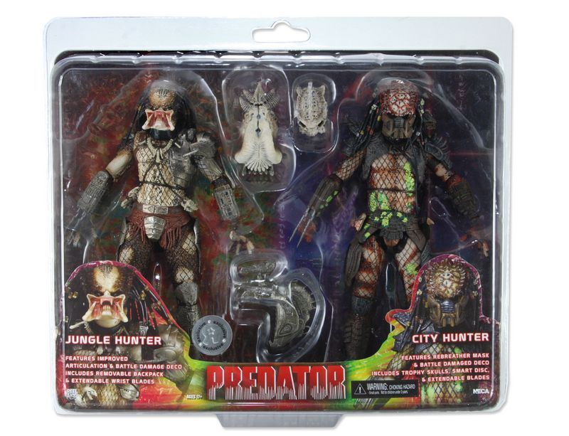 Predator Classic Series 2 Battle Damaged Collection Action Figures Model Statue