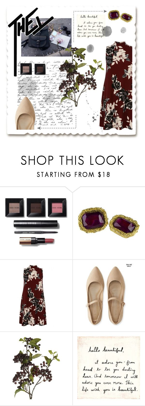 """They"" by gina-is-in-style ❤ liked on Polyvore featuring Bobbi Brown Cosmetics, Chanel, Aéropostale, OKA and Sugarboo Designs"