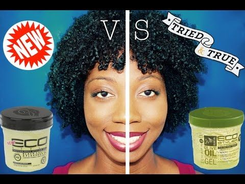 Wash N Go Tutorial Review Eco Style Black Castor Flaxseed Oil Gel W Demo Youtube Eco Styler Gel Natural Hair Washing Wash N Go