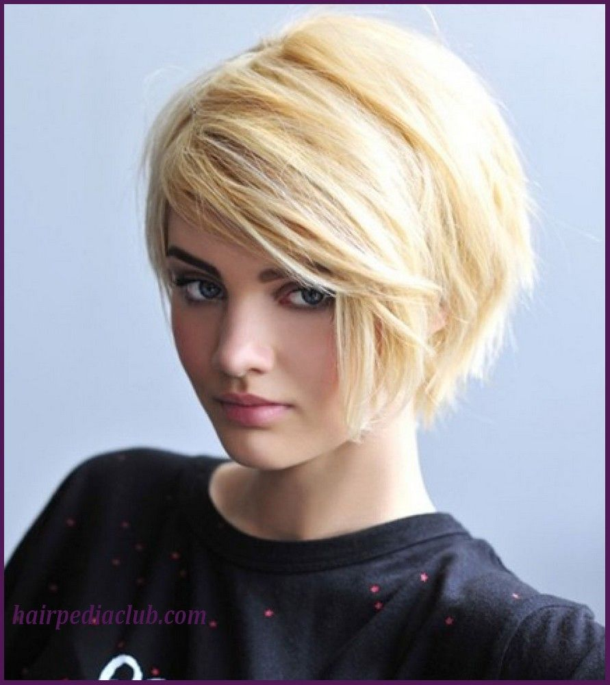 5 short haircuts for thick hair and round faces | hairstyles