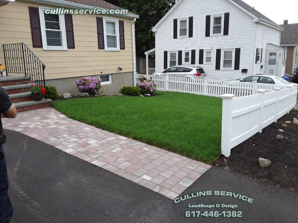 Doing Some Curbappeal On A Property Getting Ready To Be Put On The Market Bush Removal Bush Planting Edging Mulch Lawn Care Landscape Projects Patio