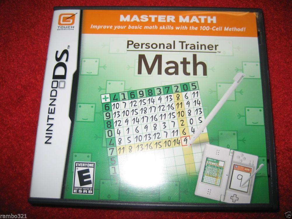 Personal Trainer: Math (Nintendo DS, DSI, 2DS, 3DS, 3DS XL ...