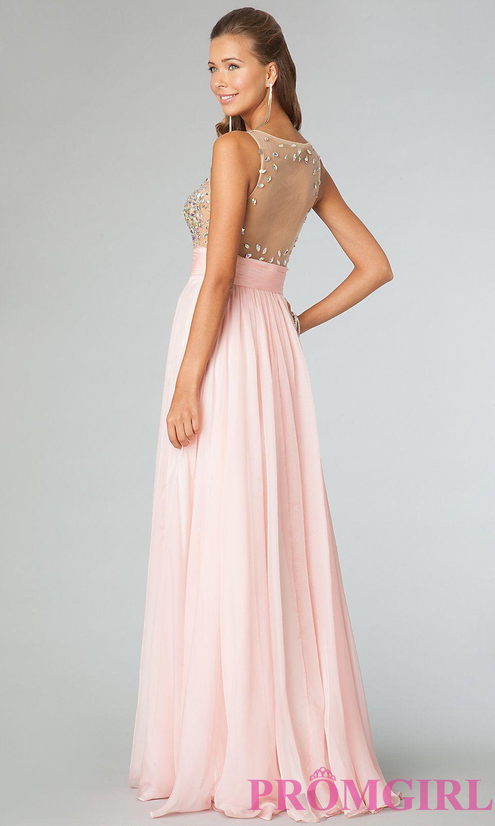 Image of JVN by Jovani prom dress 91296 Back Image   vestidos ...