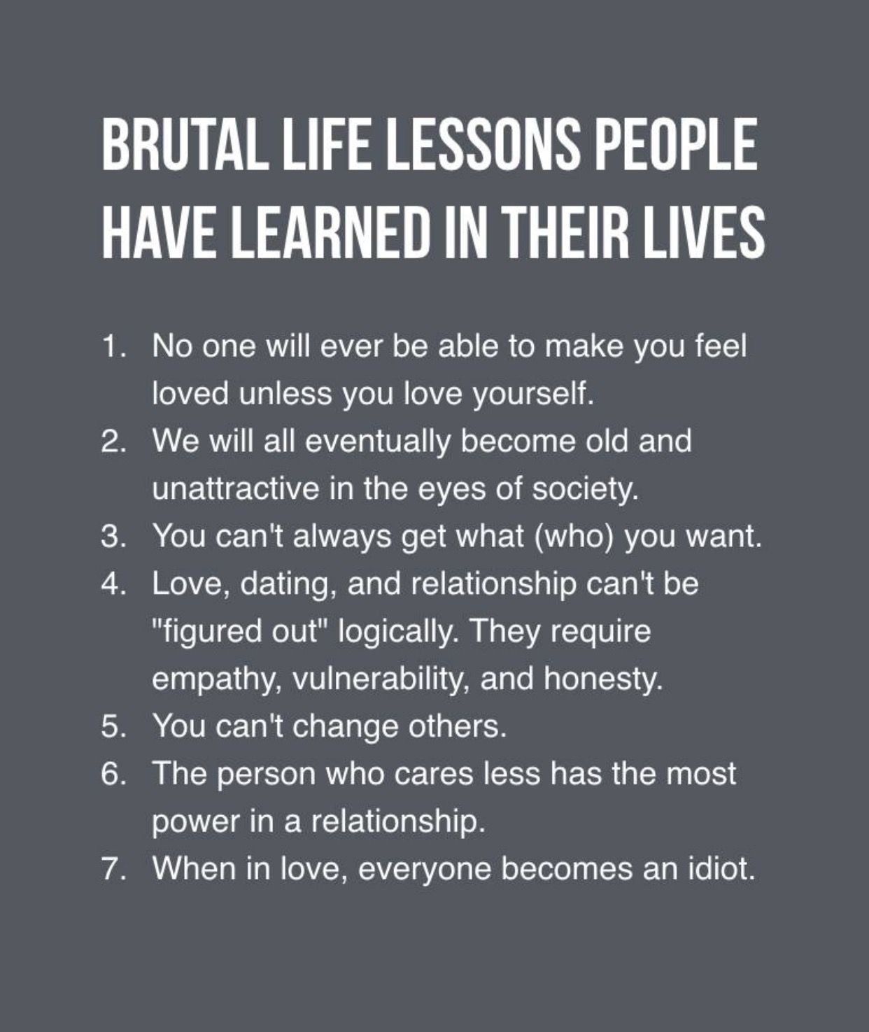Life Advice Quotes Brutal life lessons | LIFE | Pinterest | Life lessons, Life Quotes  Life Advice Quotes