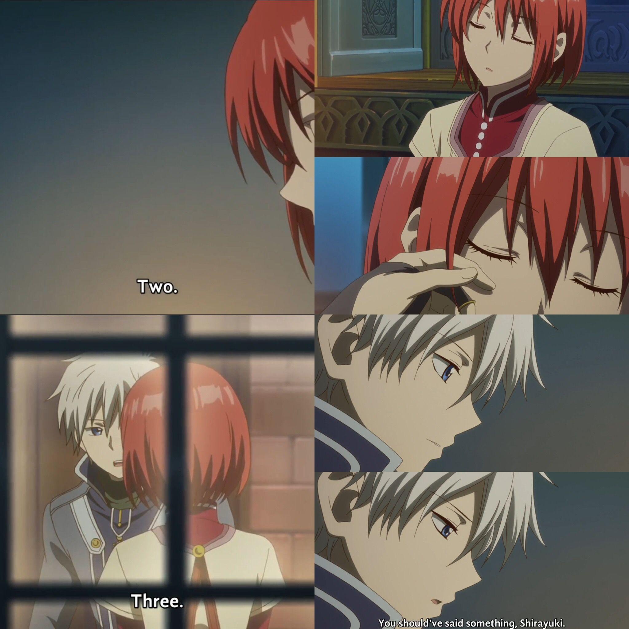 Zen Puts Shirayuki To Sleep Part 2 Eeeekkkkkkk Anime Art Zen