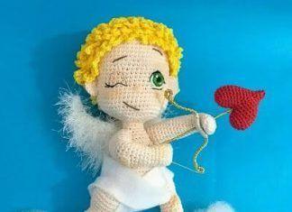 Photo of Cupido amigurumi patrón gratis – Patrones gratis