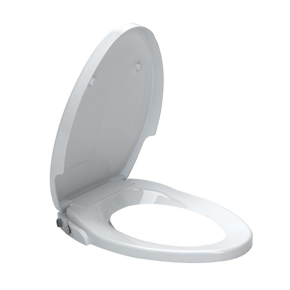 Cadet Aquawash Elongated Telescoping Bidet Toilet Seat Bidet