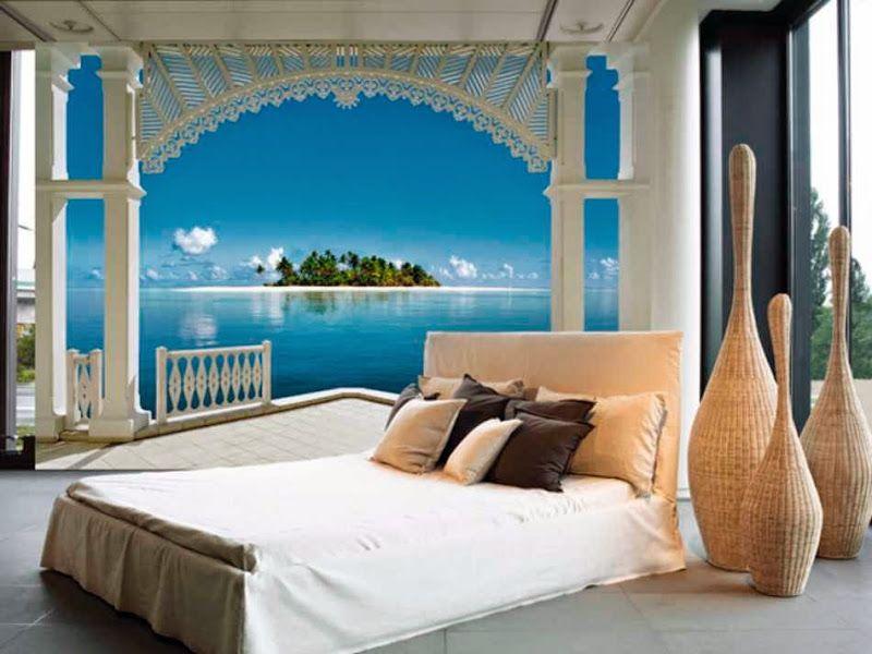 Karibik für zu Hause: 40+ unglaublich schöne Fototapeten Designs ...