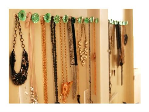 to hang up jewels