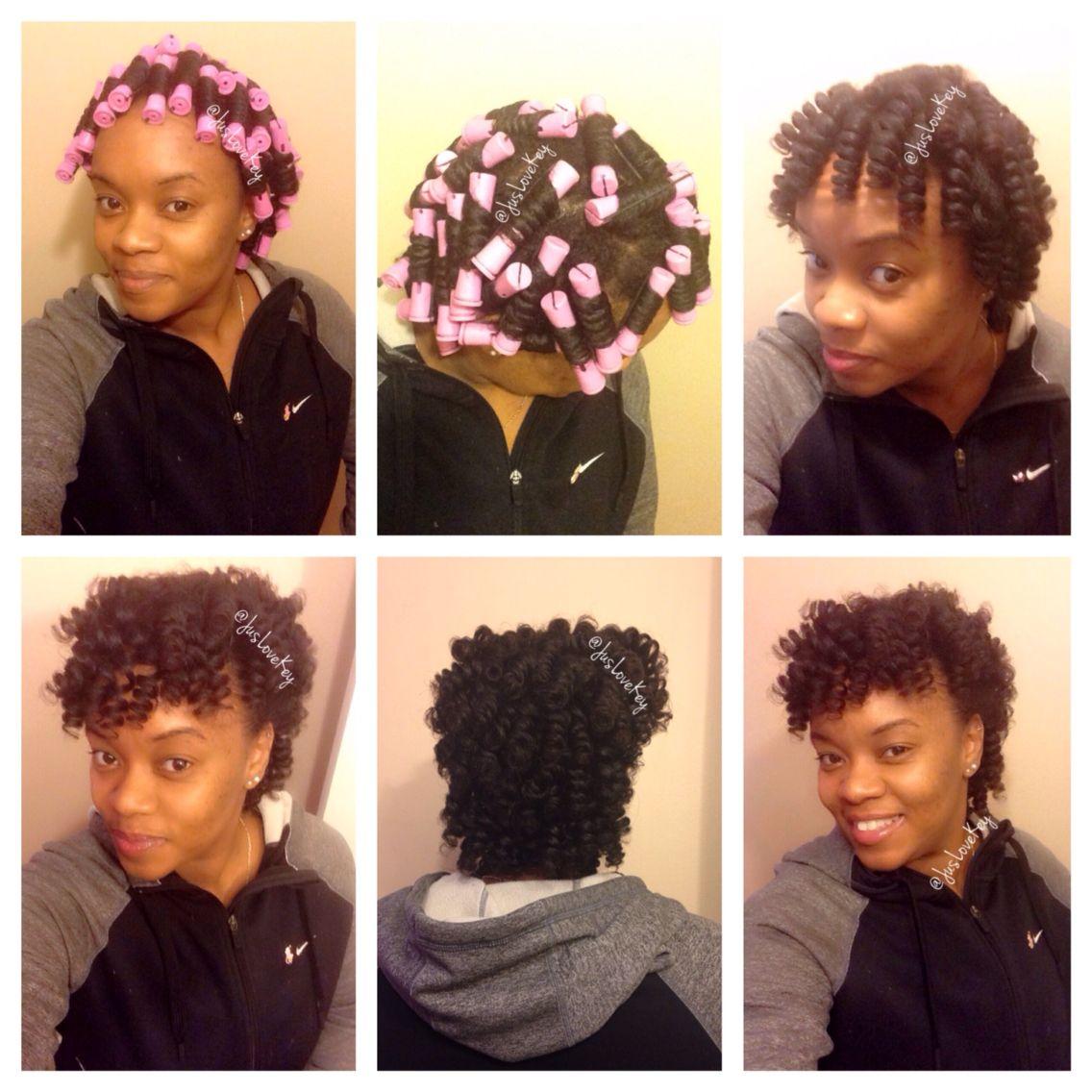 Perm Rod Set Natural Hair Salons Natural Hair Styles Curly Hair Styles