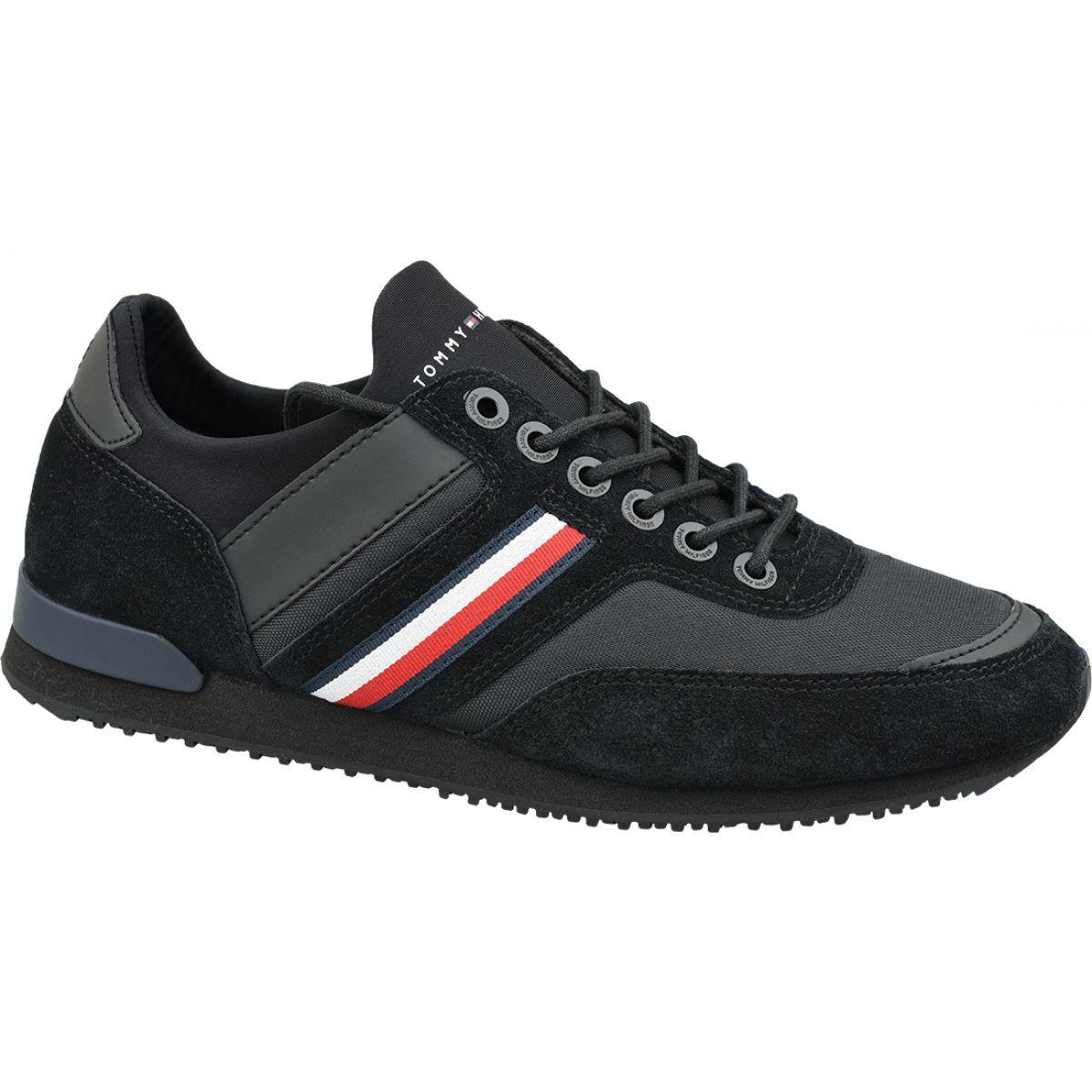 Buty Tommy Hilfiger Iconic Sock Runner M Fm0fm02409 990 Czarne Iconic Socks Tommy Hilfiger Hilfiger