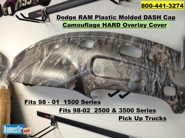 Camouflage Dash Cap Overlay Fits 98 01 Dodge Ram P U 98 01 Dodge Ram Dash Cap Overlay Fits 98 01 1500 3500 Series Also Fits 2002 2 Dodge Ram Dodge Overlays