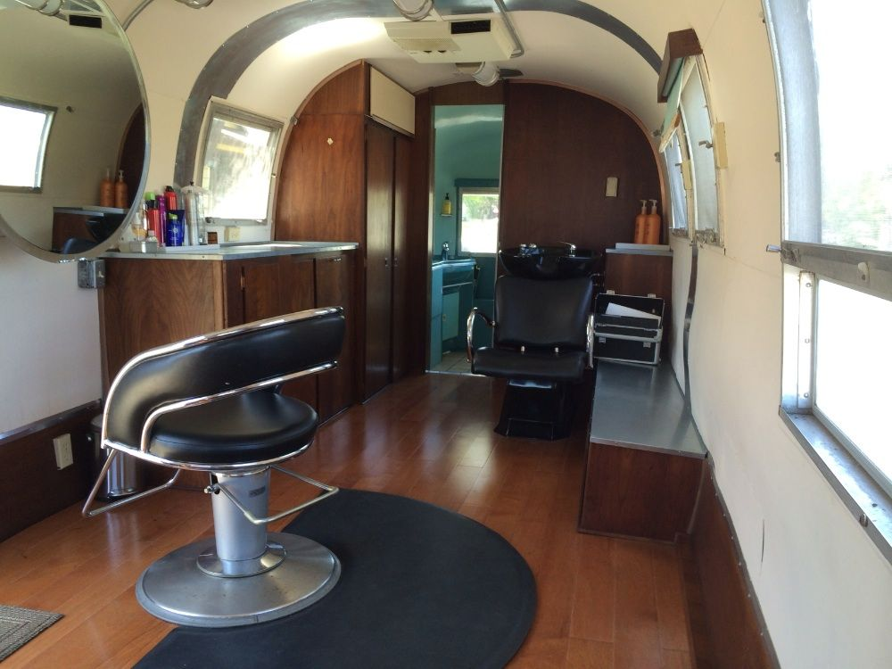 salon redo 1967 airstream overlander 26 for sale in napa