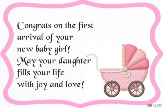 Congratulations For Newborn Baby Girl Quotes Wishes Messages Images For Facebook Whatsapp Picture Sms In 2020 Newborn Baby Girl Quotes Baby Girl Quotes Wedding Quotes