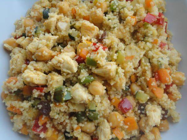Cous Cous Con Verduras Y Pollo Receta De Rebe Receta Verduras Cuscus Con Verduras Couscous Con Verduras