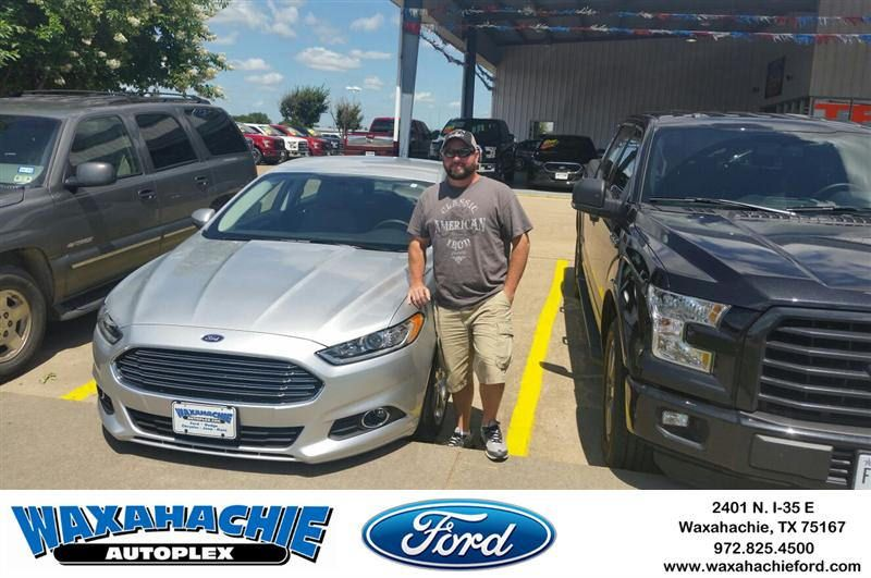 Congratulations to daniel graham on your ford fusion