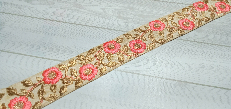 Silk Sari Border Crafting Trim Fabric Trim And Embellishments