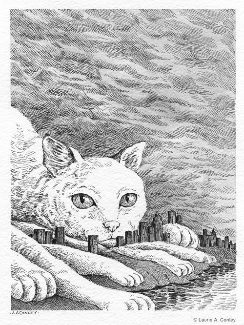 Fog By Laurie Conley Via Behance With Images Cats